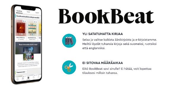 Bookbeat edut ja tarjoukset